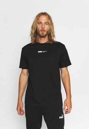 ADVANCED TEE - T-shirt con stampa - black