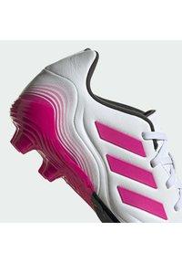 adidas Performance - COPA SENSE.3 FIRM GROUND - Moulded stud football boots - ftwwht/shopnk/cblack - 8