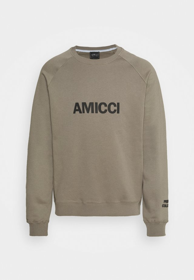 PREMIUM UNISEX  - Sweatshirt - khaki