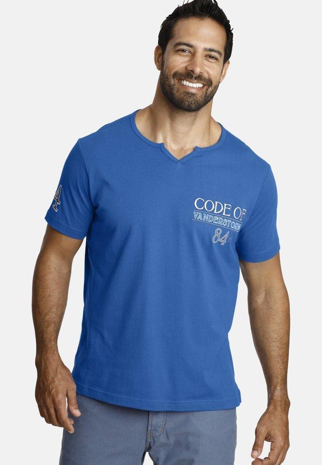INGOMAR - Print T-shirt - blue