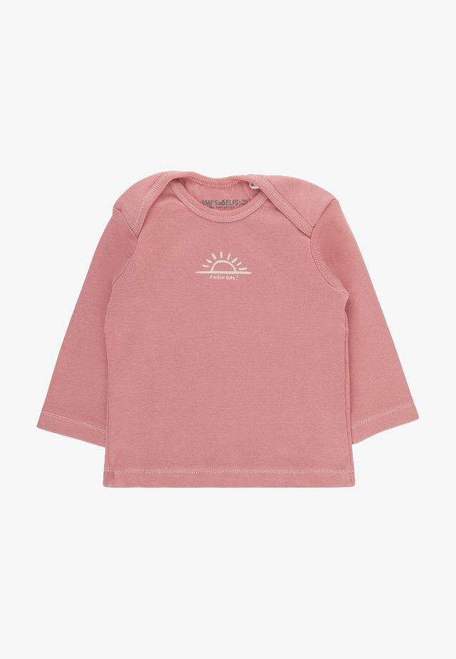 ROBIN - Long sleeved top - doll pink
