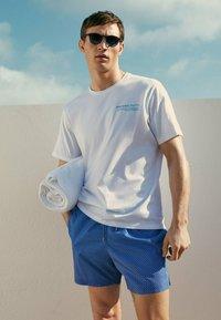 Massimo Dutti - Swimming trunks - blue - 0