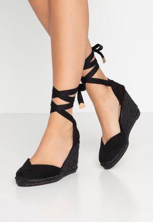 CHIARA - High heeled sandals - black
