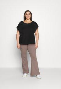 Anna Field Curvy - T-shirts med print - black - 1