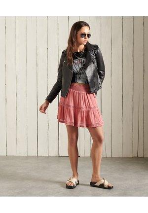 ALANA  - Pleated skirt - dusty rose