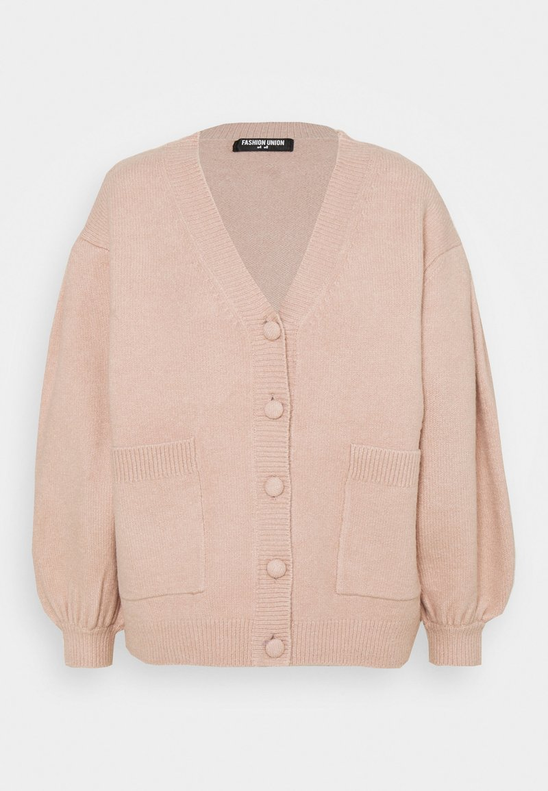 Fashion Union - SANTIAGO  - Cardigan - pink