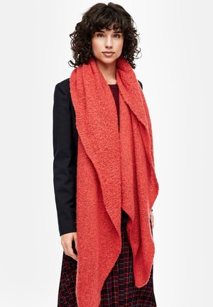 Scarf - red knit