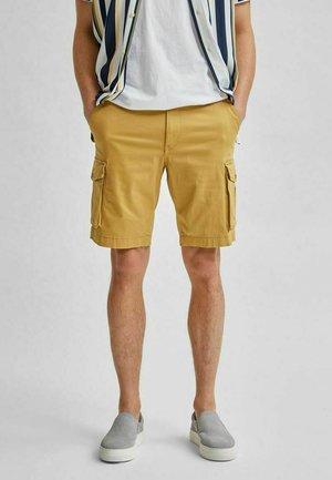 Shorts - mustard gold