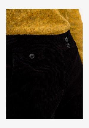 Trousers - navyblau