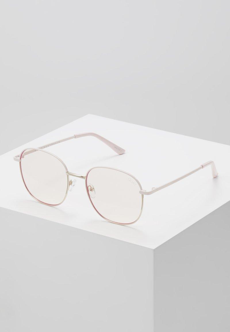 QUAY AUSTRALIA - JEZABELL BLUE LIGHT - Sluneční brýle - pink/light pink