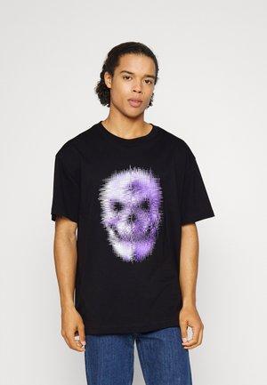 OVERSIZED UNISEX  - Camiseta estampada - black
