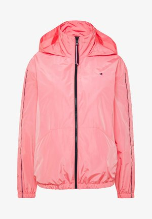 CORY FUNNEL PACKABLE - Summer jacket - pink grapefruit
