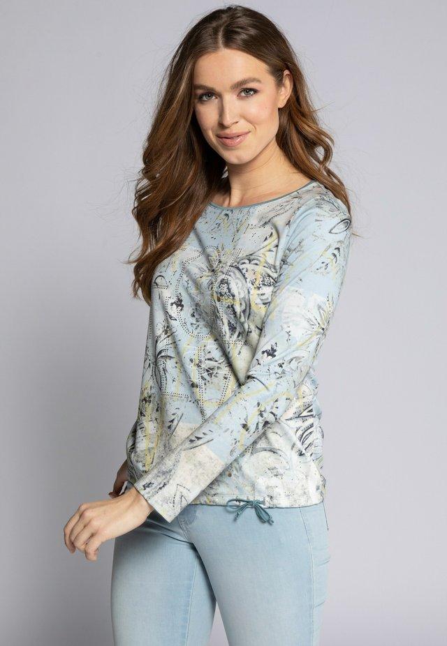 Pitkähihainen paita - glasblau
