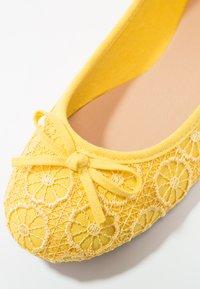 Anna Field - Ballet pumps - yellow - 6