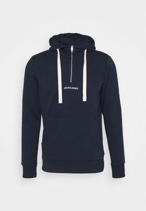 JORRATIC HALF ZIP HOOD - Hoodie - navy blazer
