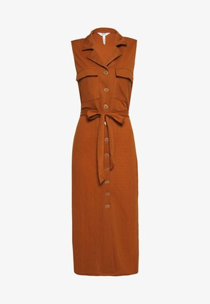 CORINE DRESS - Vestido camisero - beige