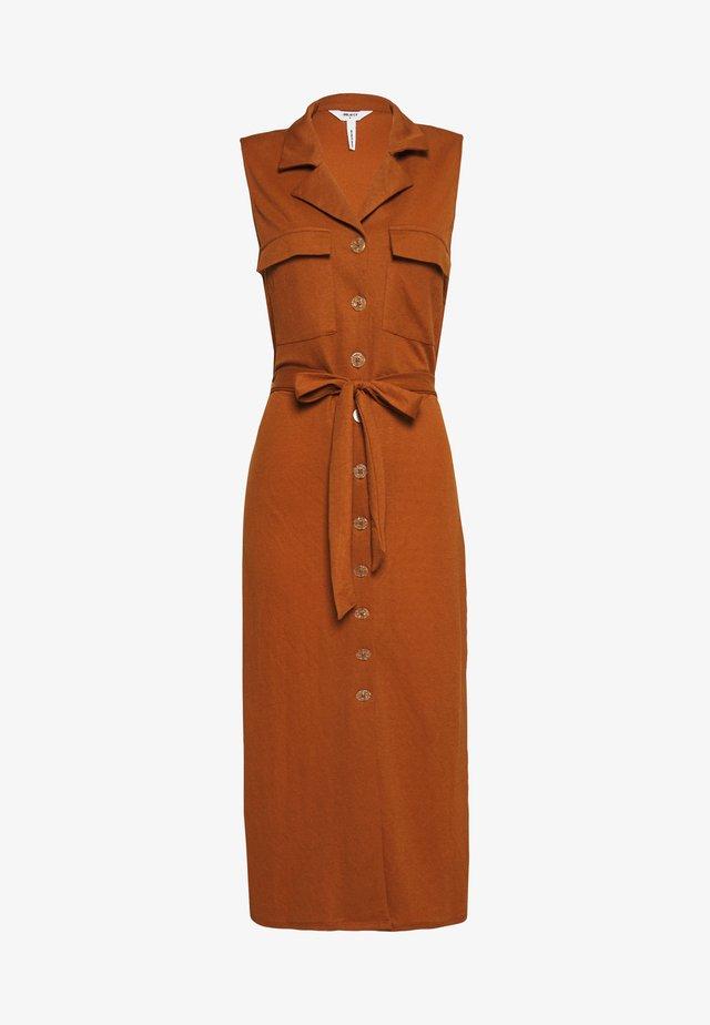 CORINE DRESS - Robe chemise - beige