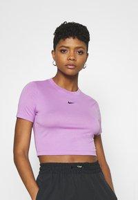 Nike Sportswear - TEE SLIM - Camiseta básica - violet shock - 3