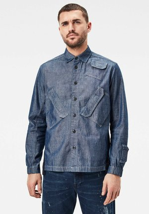 MULTI SLANT POCKET RELAXED - Overhemd - rinsed