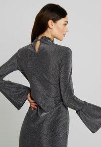 YAS - YASJENNIFER DRESS SHOW - Cocktailkleid/festliches Kleid - black/silver - 5