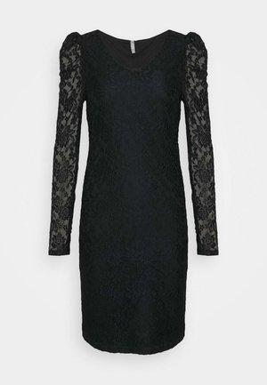 ONLPOULA DRESS - Pouzdrové šaty - black