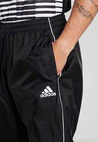 adidas Performance - CORE 18 RAIN PANT - Bukse - black/white - 4