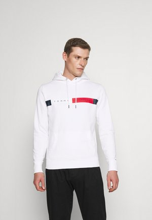 LOGO HOODY - Sweat à capuche - white