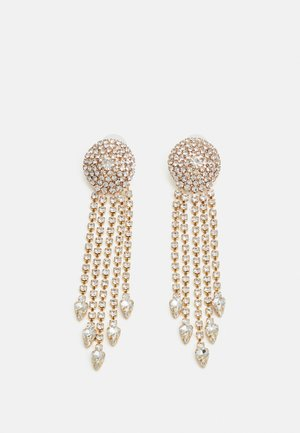 STATEMENT DROP EARRINGS - Earrings - gold-coloured