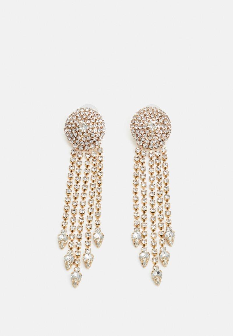 sweet deluxe - STATEMENT DROP EARRINGS - Earrings - gold-coloured