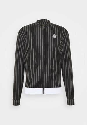 PINSTRIPEJACKET - Bomber bunda - black/white