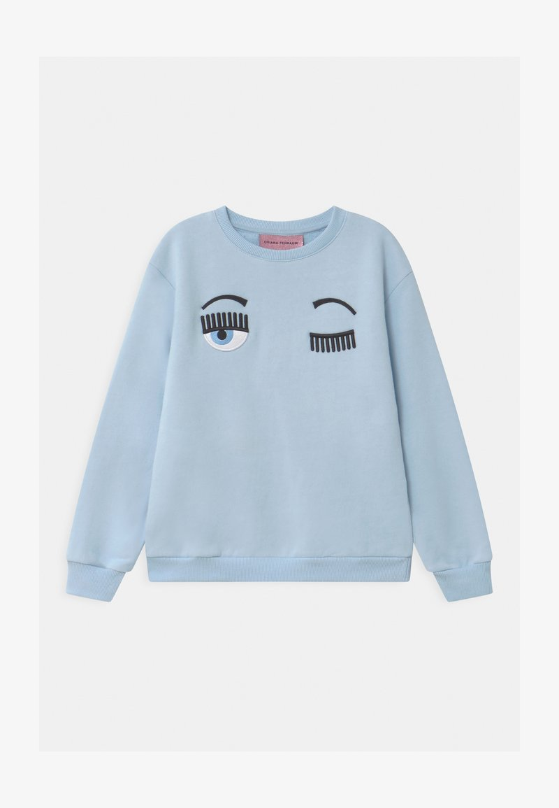 CHIARA FERRAGNI - KIDS FLIRTING - Sweatshirt - blue