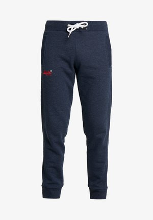 ORANGE LABEL CLASSIC - Tracksuit bottoms - midnight blue feeder