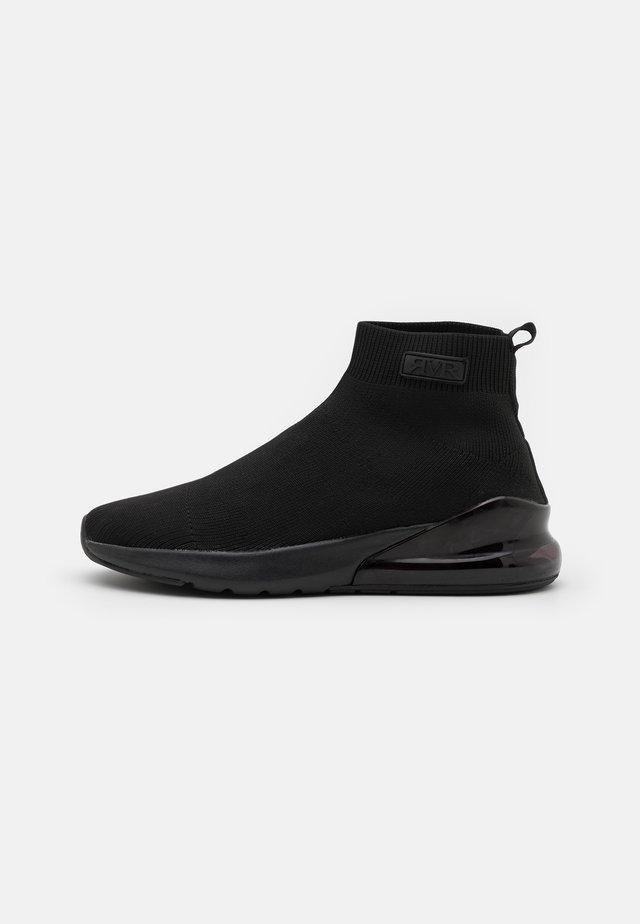 SERGIO SOCK TRAINER - Sneakersy wysokie - black