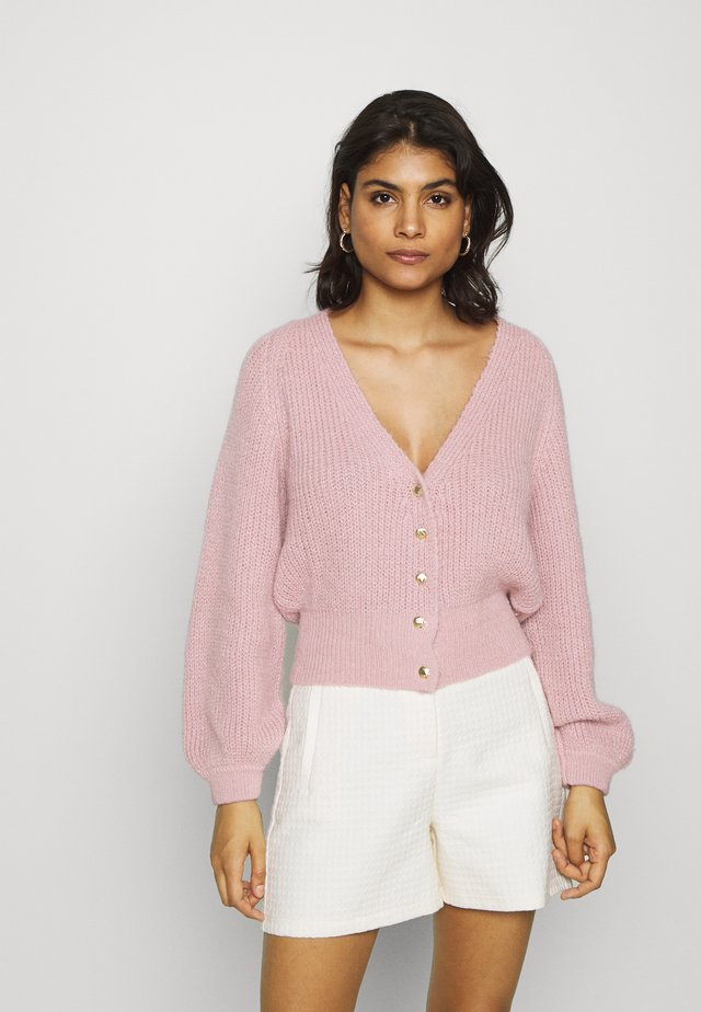 STARRY - Cardigan - dusty pink