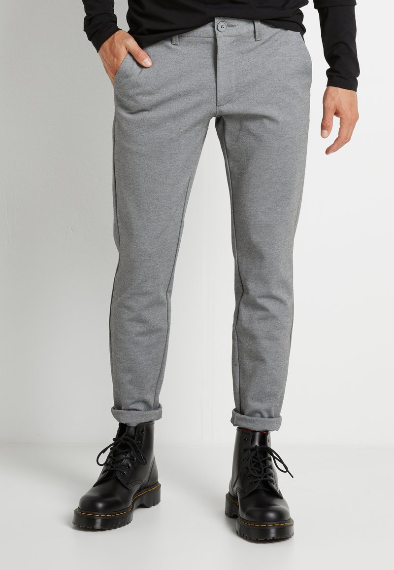 Only & Sons - ONSMARK PANT - Pantaloni - medium grey melange