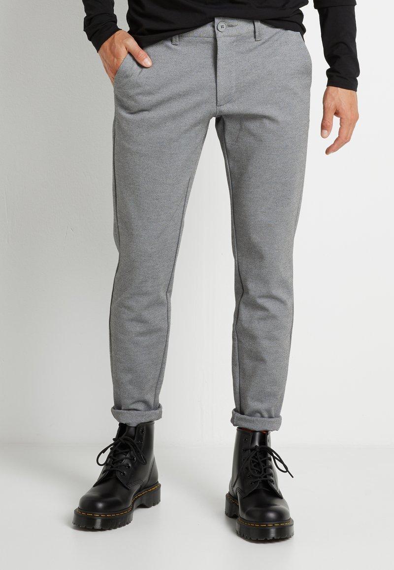 Only & Sons - ONSMARK PANT - Pantalones - medium grey melange