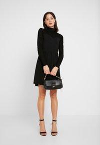ONLY - ONLNIELLA DRESS - Jersey dress - black - 2
