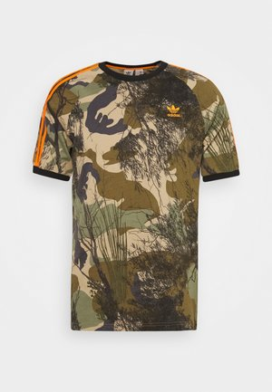 CAMO TEE - T-shirt print - hemp/brooxi/eargrn/