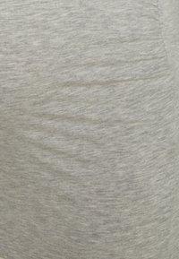 ONLY - OLMLOVELY LIFE ONECK 2 PACK - Basic T-shirt - black/light grey melange - 4