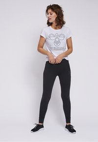 Hummel - HMLZILLE - Leggings - black - 1