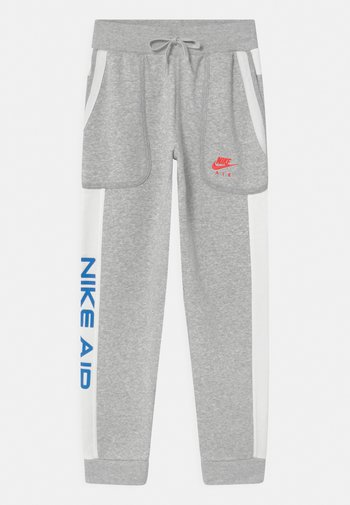 AIR - Tracksuit bottoms - grey heather/summit white/infrared