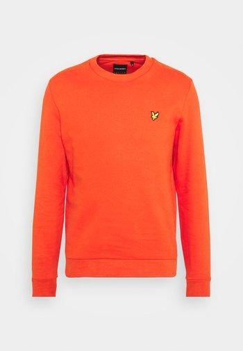 RIPSTOP PANEL - Sweatshirt - burnt orange