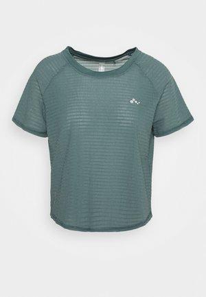 ONPOMELIA TRAINING TEE - Sports shirt - goblin blue