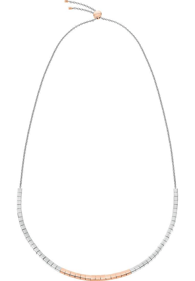 Calvin Klein - CALVIN KLEIN DAMEN-KETTE TUNE EDELSTAHL - Necklace - bicolor