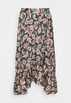 JISLEY - A-line skirt - noir