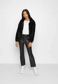 New Look - THEO FUNNEL NECK  - Light jacket - black - 1