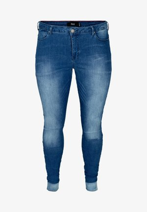 AMY - Jeans slim fit - blue