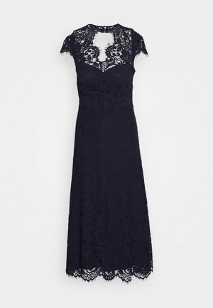 DRESS MIDI - Vestido de cóctel - navy blue