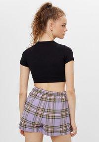 Bershka - Wrap skirt - mauve - 2