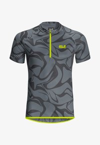 Jack Wolfskin - GRADIENT - T-Shirt print - storm grey all over - 4